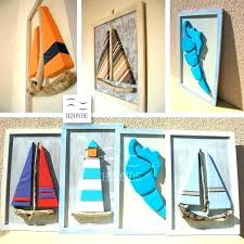 sail boat wall decor sailboat metal wall art wood fine luxury icon driftwood framed decor modern sail boat wall decor