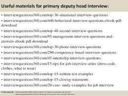interview questions for headteachers top 10 primary deputy head interview questions and answers