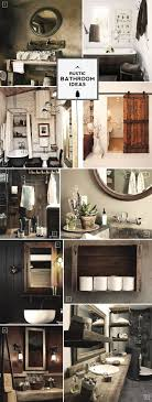 Rustic Bathroom The 25 Best Rustic Bathroom Designs Ideas On Pinterest Rustic