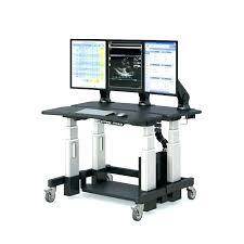 diy sit stand desk computer64