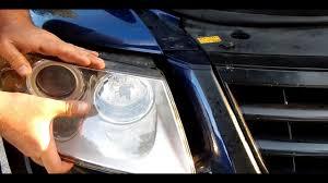 Vw Touareg Light Bulb Replacement How To Change A Halogen Light Bulb With A Vw Touareg Porsche Cayenne Audi Q7 English