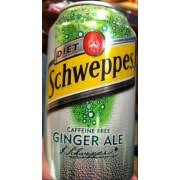 photo of schweppes t ginger ale caffeine free