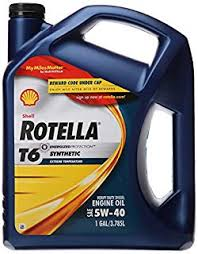 Shell Rotella T6 Full Synthetic 5w 40 Diesel Engine Oil 1