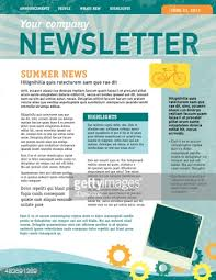 sample company newsletter company newsletter design template vector art getty images