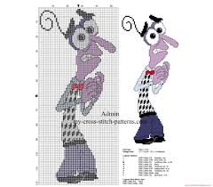 Fear Of Patterns Interesting Cross Stitch Patterns Disney Inside Out Fear Graficos Ponto Cruz