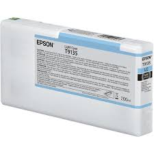 <b>Epson T9135</b> UltraChrome HDX <b>Light</b> Cyan Ink Cartridge T913500 ...