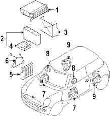 com acirc reg mini amplifier partnumber  2006 mini cooper s l4 1 6 liter gas sound system