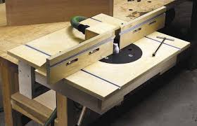 you can build a router table in two days