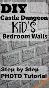 Minecraft Kids Bedroom Diy Castle Dungeon Minecraft Kids Bedroom Paint Tutorial