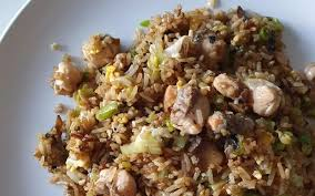 Easy recipe for salmon fried rice ...