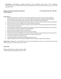 appian developer resume resume