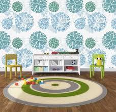 3D Kids, <b>Cartoon</b>, Blue hydrangea Wallpaper-<b>Nursery</b> Wallpaper ...