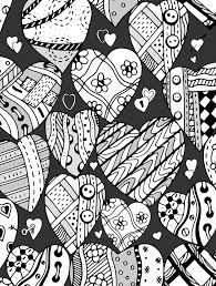 Small Picture 20 Free Printable Valentines Adult Coloring Pages Page 8 of 20