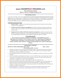 10 Police Officer Resume Mla Cover Page