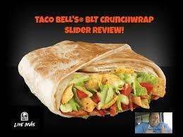 taco bell crunchwrap sliders. Beautiful Crunchwrap Taco Bell BLT Crunchwrap Slider REVIEW And Bell Sliders L