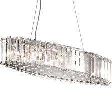 elstead kichler crystal skye island chandelier chrome kl crstskye isle