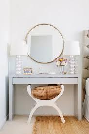 modern bedroom vanities. Please Use Small Makeup Table On Bedroom Vanity With Two Lamp Also Round Mirror Modern Vanities