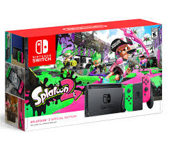 Switch Splatoon 2 special edition box ...