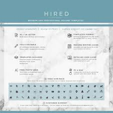Medical Resume Template Free Medical resume template Archives Hired Design Studio 90