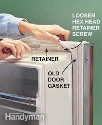 refrigerator door gasket. how to replace a refrigerator door gasket the family handyman