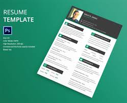 40+ Resume Template Designs | Freecreatives