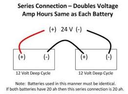 24 volt battery battery connections what size wire
