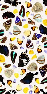 Butterfly Pattern Inspiration Butterfly Terrazzo Removable Woven Wallpaper Peel And Stick