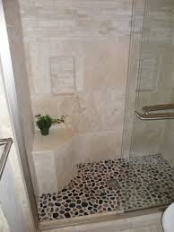 elegant bathroom tile ideas. Bunch Ideas Of Elegant Shower Remodel Travertine And Pebble With Additional Bathroom Flooring For Small Bathrooms Tile