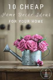 cheap home decor ideas to spruce up your home