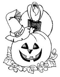 Small Picture Halloween Coloring Pages Adults Printables Hallowen Coloring