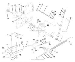 Husqvarna gth 220 954830167a 1995 08 parts diagram for lift assembly diagram