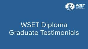 wset diploma graduate testimonials