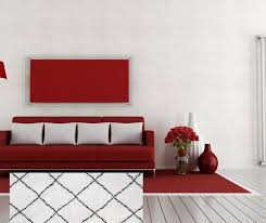 12 fabulous rug colors for a red couch