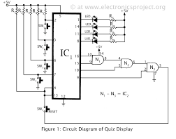 basic wiring diagram diagrams schematics display circuit electronics basic wiring diagram diagrams schematics display circuit electronics project electrical segment breadboard plan seven module common cathode words led logic
