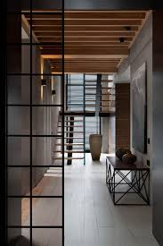 entryway systems furniture. Interior Hall Entry Foyer Contemporary Ideas Gray Modern Palette And Walnut Completes The Redesign This Family Entryway Systems Furniture S
