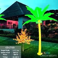 patio palm tree palm tree outdoor light palm tree outdoor lamp post lights led lighted wheat patio palm tree