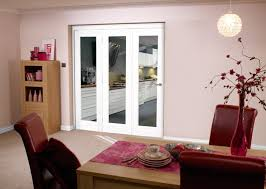 glazed white p10 roomfold clear interior doors image