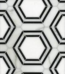 black and white hexagon tile floor. Interesting White 37 Black And White Hexagon Bathroom Floor Tile Ideas Pictures For Flooring  13 Throughout E