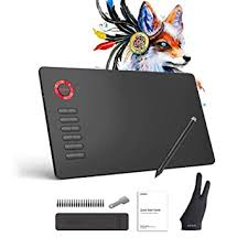 <b>VEIKK A15 Graphics Drawing</b> Tablet Pen Tablet 10x6 Inch <b>Drawing</b> ...