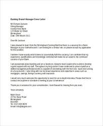 bank manager cover letters 12 banking cover letter templates sample example free