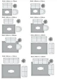 area rug size for living room what with sectional