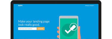 Flatty - App Landing Page