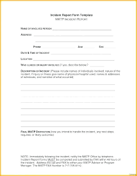 Injury Incident Rt Form Template Employee Pics Accident