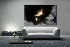 Tableau décoration Pleine Lune par Marion Lechat