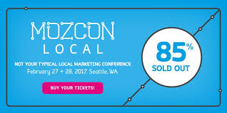 """Lupe Sweeney on Twitter: """"Moz: We only have 15% of our #MozCon Local  tickets left. Have you purchased yours yet? https://t.co/JUYCBUVU3n  #RetirementAndTravel"""""""