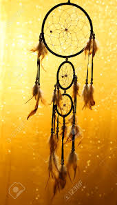 Beautiful Dream Catcher Images Beautiful Dream Catcher On Yellow Background With Lights Stock 90