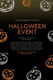 halloween template flyer customizable design templates for halloween flyer template