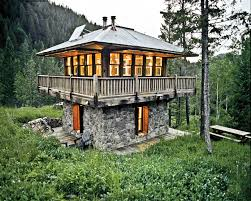 Lookout Tower Plans Mortgage Free Living In A Hand Built Tiny Home Green Homes