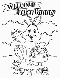 Free Printable Easter Bunny Coloring Pages For Kids For Free