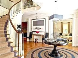 glass entry table foyer tables decor for round hall ideas with remodel 4